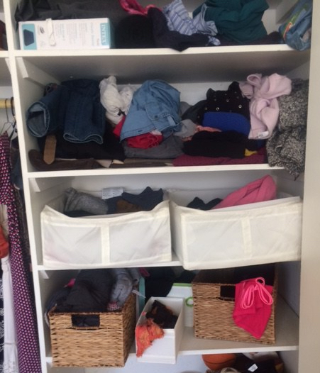 Beau For Anyone Who Has Felt Discouraged After Organizing Their Closet, Only For  It To Be Messy Again After A Short Time, ...